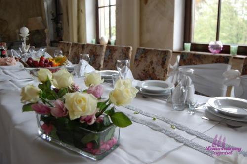 Komunia - dekoracje stołów (7)