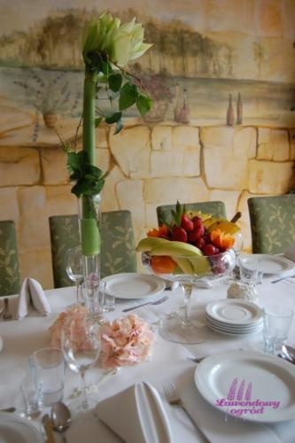 Komunia - dekoracje stołów (72)
